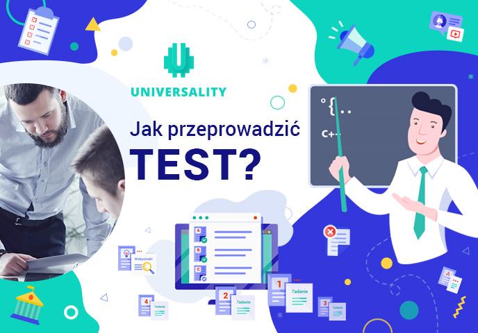 Jak utworzyć zadania testowe i opublikować test dla studentów?